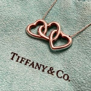 Tiffany & Co. Triple Heart Pendant Necklace